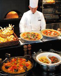 The Buffet, 6400 JPY @ Cascade Cafe, ANA Hotel