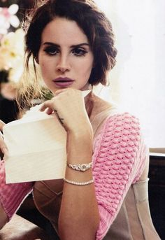 Lana Del Ray, too perfect.
