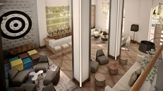 Hotel Zetta San Francisco - Opening 2/18/13  A lobby made for lounging.