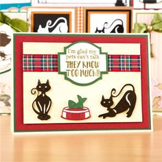 Tonic Rococo Petitie Die and Stamp Collection - Cats Whiskers (361029) | Create and Craft
