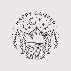 Ideas camping illustration happy for 2019 Camping Theme, Camping Crafts, Camping Hacks, Camping Meals, Camping Desserts, Camping Packing, Camping Recipes, Camping Activities, Party Activities
