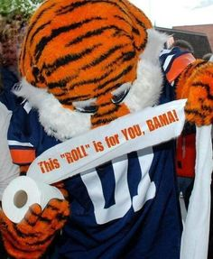 Love Aubie!! WAR DAMN EAGLE!!!     For Great Sports Stories and Audio Podcasts, Visit our Blog at www.RollTideWarEagle.com