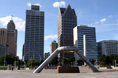 Hart Plaza, Detroit, Michigan