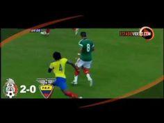 México 3-1 Ecuador. #FuerzaChapo