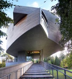 The Glucksman Gallery on the grounds of University College Cork. A stunning building from Irish architects O'Donnell Tuomey