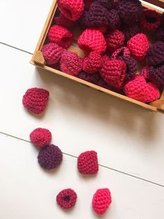 DIY children's shop, of course homemade goods for children's shop, - Kinderkaufladen - Baby Diy Felt Crafts, Fabric Crafts, Diy And Crafts, Easy Knitting Projects, Crochet Projects, Crochet Food, Knit Crochet, Free Crochet, Irish Crochet