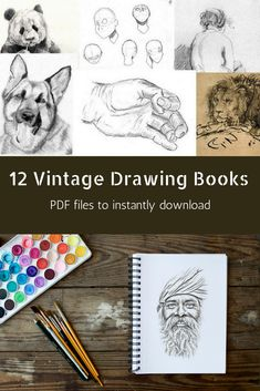 Colored pencil drawing best drawing books and tools pinterest etsy twelve classic drawing books pdf ebooks in 5 zip files instantdownload collection includes books published from 1885 1922 fandeluxe Choice Image