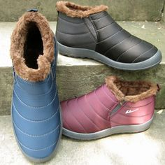 Find More Women's Boots Information about Women Winter Warm Plush Shoes Black Waterproof 2016 Female Ankle Snow Boots Men Cotton padded Casual Outdoor Lovers EUR 35 44,High Quality snow boots men,China snow boots Suppliers, Cheap ankle snow boots from LeiShu E-Commerce Co., Ltd Store on Aliexpress.com