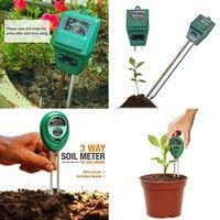 1x Plastic Soil Moisture Meter and PH Level Tester for Plants Crops Flowers Vegetable Garden Soil T