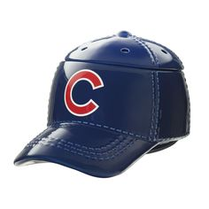 """Chicago Cubs™ MLB Scentsy Warmer It's hats off to America's favorite pastime with our NEW Major League Baseball™ Collection. These officially licensed warmers are """"stitched"""" with your team's logo and look great next to the game ball on your shelf. Major Baseball, Chicago Baseball, Chicago Cubs, Baseball Cap, Baseball Season, Scentsy Wax Warmer, Cubs Fan, Wax Warmers, Team S"""