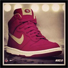 Nike ID 49ers***I want THESE!!***