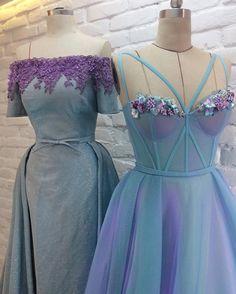 Aqua and Lavender #teutamatoshiduriqi
