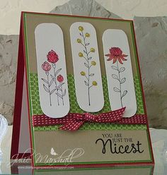 stampin up flowering fields - Google Search