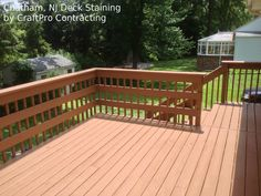 Learn about deck refinishing, staining, product information, best practices and more in this comprehensive article about deck restoration.