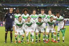 Das Team des VfL Wolfsburg traf im Achtelfinale der Champions League auf den...