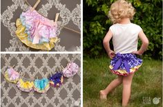 Ruffled Feathers - Satin Ruffle Bloomers for 3.99!!!
