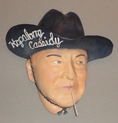 Vintage Hopalong Cassidy String Holder (Heros of the West Series)