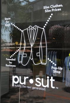 window graphics menswear, pinned by Ton van der Veer