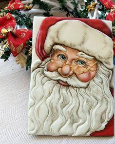 Fondant Cookies, Royal Icing Cookies, Cupcake Cookies, Cupcakes, Christmas Drawing, Christmas Art, Winter Christmas, Christmas Trifle, Santa Paintings