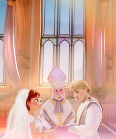 Storybook ending, fairytale comes true for Anna and Kristoff