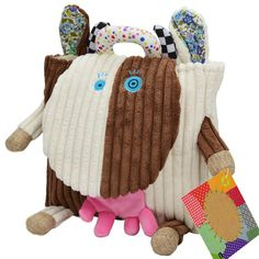 Plush Owl Backpack Toddler Toys Backpack Baby Food Bags Storage Bags Toys cartoon Infant