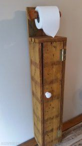 Meuble toilette on pinterest toilet furniture and bath - Meuble rangement papier toilette ...