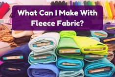 40 Incredible Fleece Craft Ideas Fleece is an incredibly versatile material you can use for craft projects. Engage your creative side with these DIY project ideas for kids, teenagers, and adults! Fleece Crafts, Fleece Projects, Fabric Crafts, Sewing Crafts, Diy Crafts, Sewing Diy, Craft Projects For Adults, Sewing Projects For Kids, Sewing For Kids
