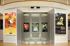 Entrance to the Home Theater...perhaps with different posters.