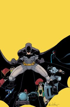 Exclusive First Look at the Variant Covers for BATMAN, INCORPORATED #0 | DC Comics