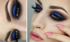 TIPS FOR WEARING BOLD BLUE EYESHADOW FOR EVERYDAY USE