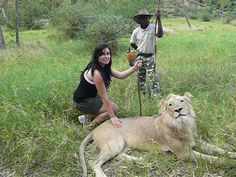 Lion trail walk in Mauritius.