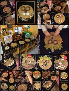 """Creating faces with loose parts - from Rachel ("""",)"""