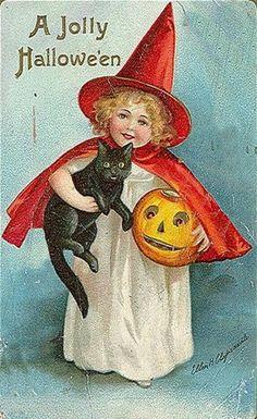 Lots of vintage Halloween printables