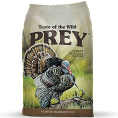 Turkey Limited Ingredient Formula for Dogs - Taste of the Wild Pet Food Sunflower Oil, Dry Dog Food, Pet Food, Lactobacillus Acidophilus, Turkey, Complete Nutrition, Fresh Meat, Roasted Meat, Natural Flavors