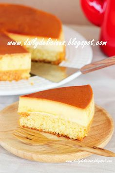 dailydelicious: Custard Cake: Soft and comforting cake