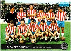 Equipos de fútbol: GRANADA contra Mestalla 07/05/1967