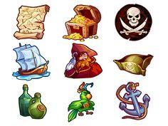 Pirate theme by Victoria Kosheleva