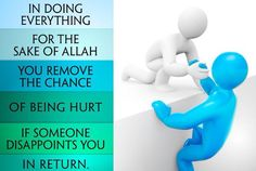 Sacrifices when done for the sake of Allah make them all the more worth it.