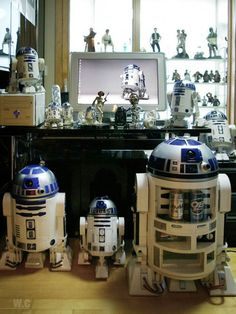 The best R2D2 collection eva!
