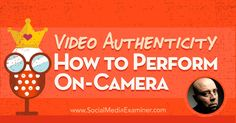 Do you want to connect with your audience via video?Looking for tips to convey confidence and authority?Read more:http://buff.ly/2t614FW