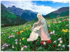 JEZUS en MARIA Groep.: MARIA TROOSTERES VAN DE BEDROEFDEN