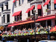 Crescent street, Montreal.
