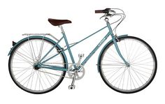 Linus Bike: Classic, except for the perfect blue.