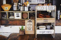 cafe風 100均すのことボックスで3段カフェシェルフを作ろう!|LIMIA (リミア)