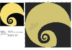 The Nightmare Before Christmas Spiral Hill free cross stitch pattern 100x100
