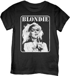 Blondie Presente Poster Toddler T-shirt - http://www.band-tees.com/store/B_01050_023!GDTSL/Blondie+Presente+Poster+Toddler+T-shirt - Band Tees