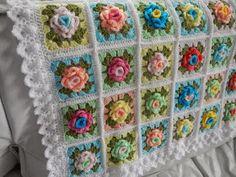 Apple Blossom Dreams: WEEK 6 - Granny Rose CAL 2015