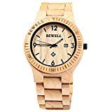 clocksell: gearbest bewell zs wooden watch