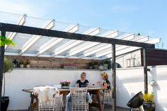 Plast tage → Find taget til udestuen, carporten eller terrassen - Plastmo Outdoor Living, Outdoor Decor, Outdoor Ideas, Pergola Patio, Home Decor, Gardening, Houses, Patio, Alternative