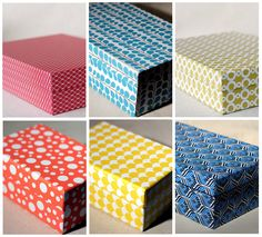 beautiful selection of paper boxes from a little paper company called Smock, 6 to 18 dollars!!